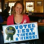 We are very pleased to be voted by our customers as Pocono's best tavern and wings.