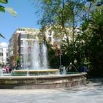 Фонтан в Парке Ла Аламеда