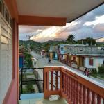 Vista del Yunque desde el balcón.