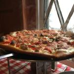 Great brick oven pizza