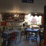 Inside The Tea Parlour...