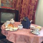 Cream Tea 1940s style...