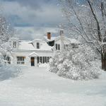 Winter in New England at the Admiral Peary Inn B & B