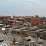 Balcony overlooking Bricktown
