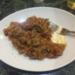 Best Bolognese risotto in newcastle, with greater parmesan... Grated with an electric grater!!