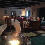Black smiths dining room