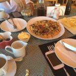 Delicious omelette for breakfast!