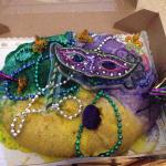 The BEST King cake!!  Taste tested from NO, Baton Rouge and here the best was right here at home