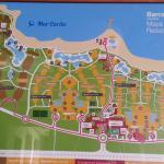 Barcélo Maya Resorts Map