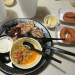 BBQ Plate - Brunswick stew-um!