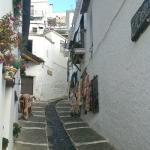 una calle del pueblo