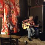 Jim Bacon serenading dinners