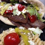 Monday Special: Gyro served on Pita