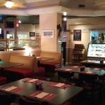 Restaurant and lunch deli area.