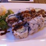 Tuna Skin Roll @ Bushido Asian Restaurant & Bar, 1517 Palm Blvd, Isle of Palms, SC 29451