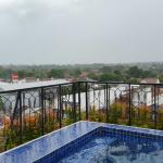at the top floor...swimming pool