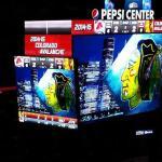 Pepsi Center Scoreboard