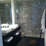 particolare bagno camera confort