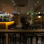 Interior of Barrique Wine & Deli