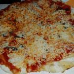 Napolitaine trop grande pour l assiette! !! J adore!
