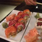 Sushi and Tempura Rolls