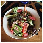 Sesame-Seared Tuna Salad