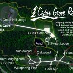 Our 65 acre Cedar Grove Retreat property is located just 1/2 mile from Old Man's Cave State Park