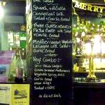 Vegetarian menu - very comprehensive!