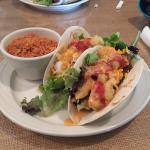 Shrimp tacos are amazing!!!