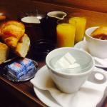 Breakfast in the room pre ski