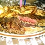 Strip Steak & fries