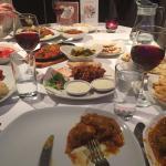 The wonderful food
