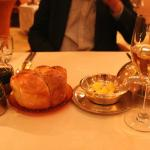 Bread, vinegar and oil with Egyptian wine