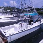Meridian charter's boat