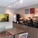 Enjoy free breakfast in the new breakfast room