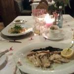 Excellent dinner Hotel Post Sankt Anton
