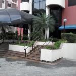 entrada do hotel. Entrance