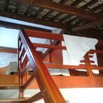 mezanino visto da escada