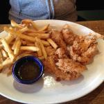Wings & Fries.