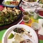 Fajitas - plenty for two hungry adults