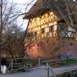 Brücke über Seebach