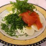 Salmon and Egg smørrebrød