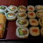 Tabla 1 de sushi libre