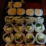 Tabla 3 de sushi libre