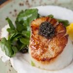 Seared Scallop with Caviar