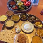 """Delicious lunch known as """"Thali"""""""