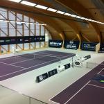 Super moderne Tennishalle zum Mieten einer Tennisstunde  zu Verfügung