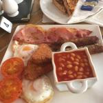 A superb, freshly cooked breakfast, with high quality ingredients and all for £8.20!