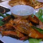 Deep Fried Prawns with Tartar Sauce
