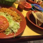 Fish Tacos with side plate